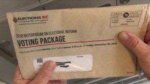 British Columbians slow to respond to electoral reform referendum